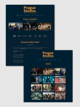web design prague studios