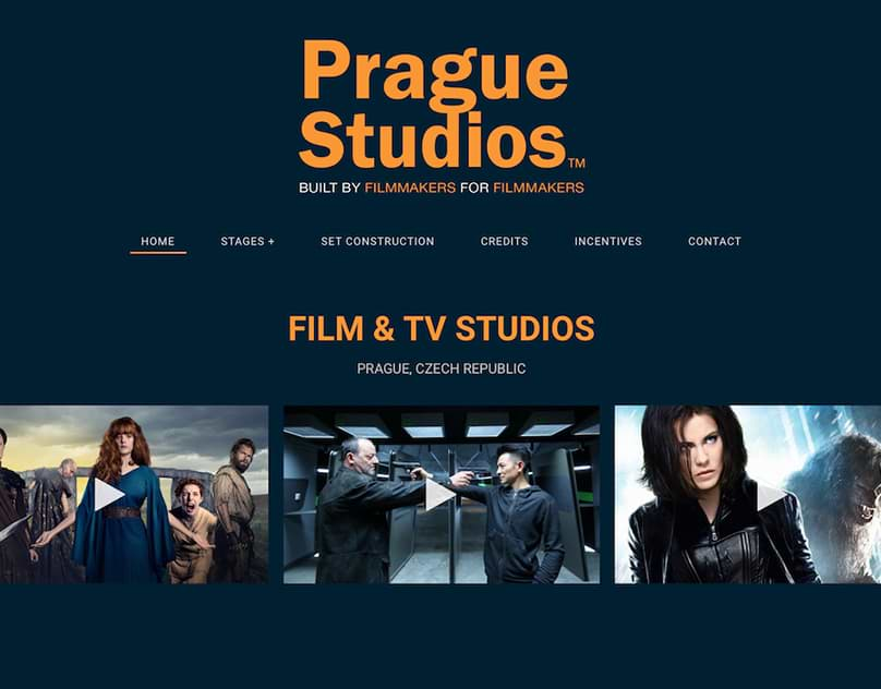 web design prague studios
