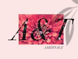 Branding, Web Design & Development / A&T Jardinage