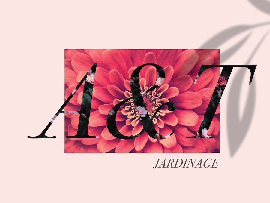 Logo Design & Branding A&T Jardinage