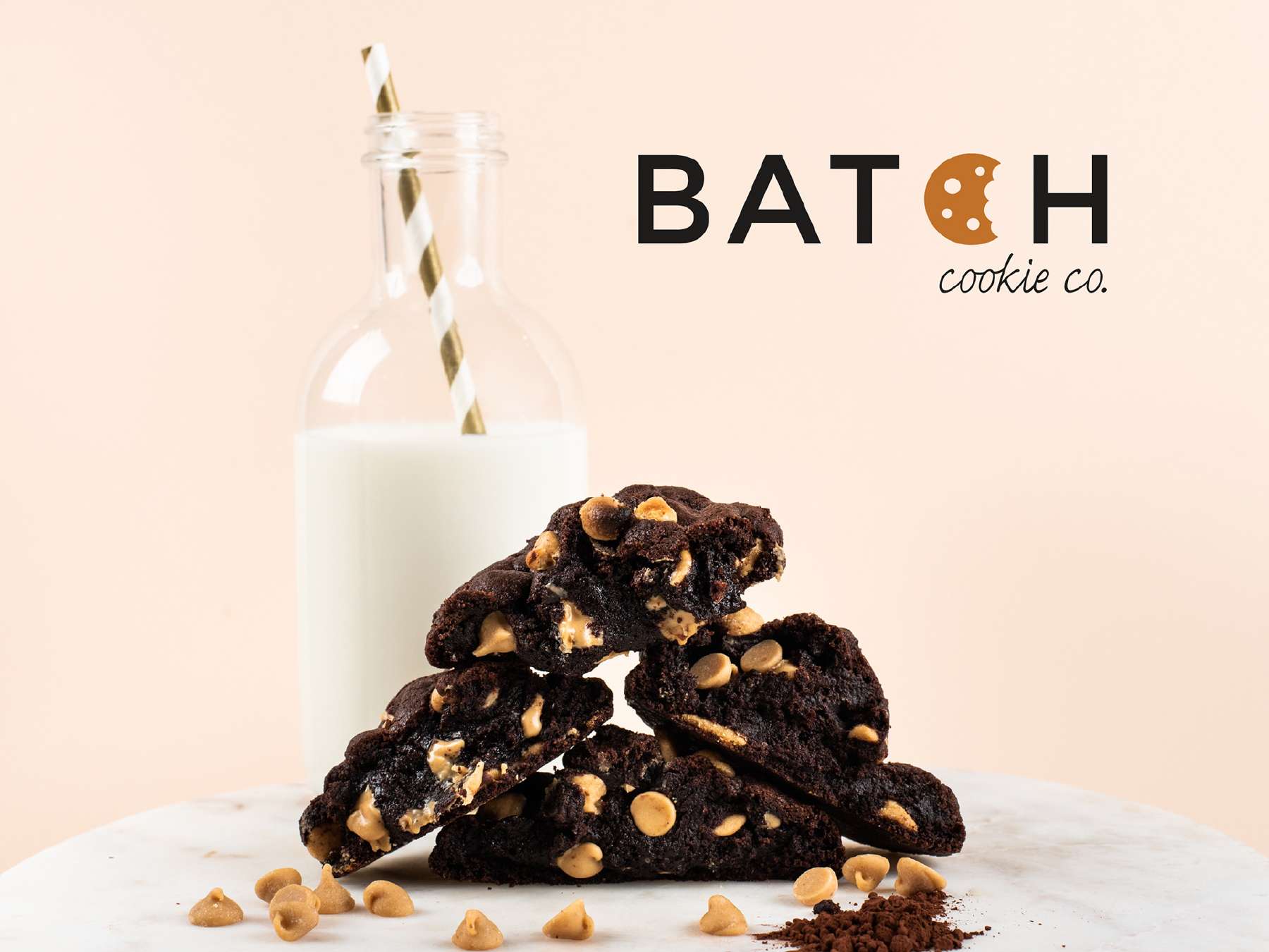 Logo Design & Branding Batch Cookie Co.