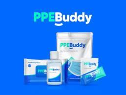 Branding logo design packaging brand identityPPE Buddy