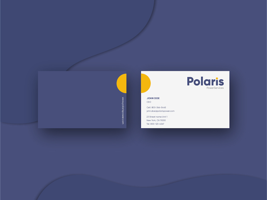 Logo Design & Branding Polaris