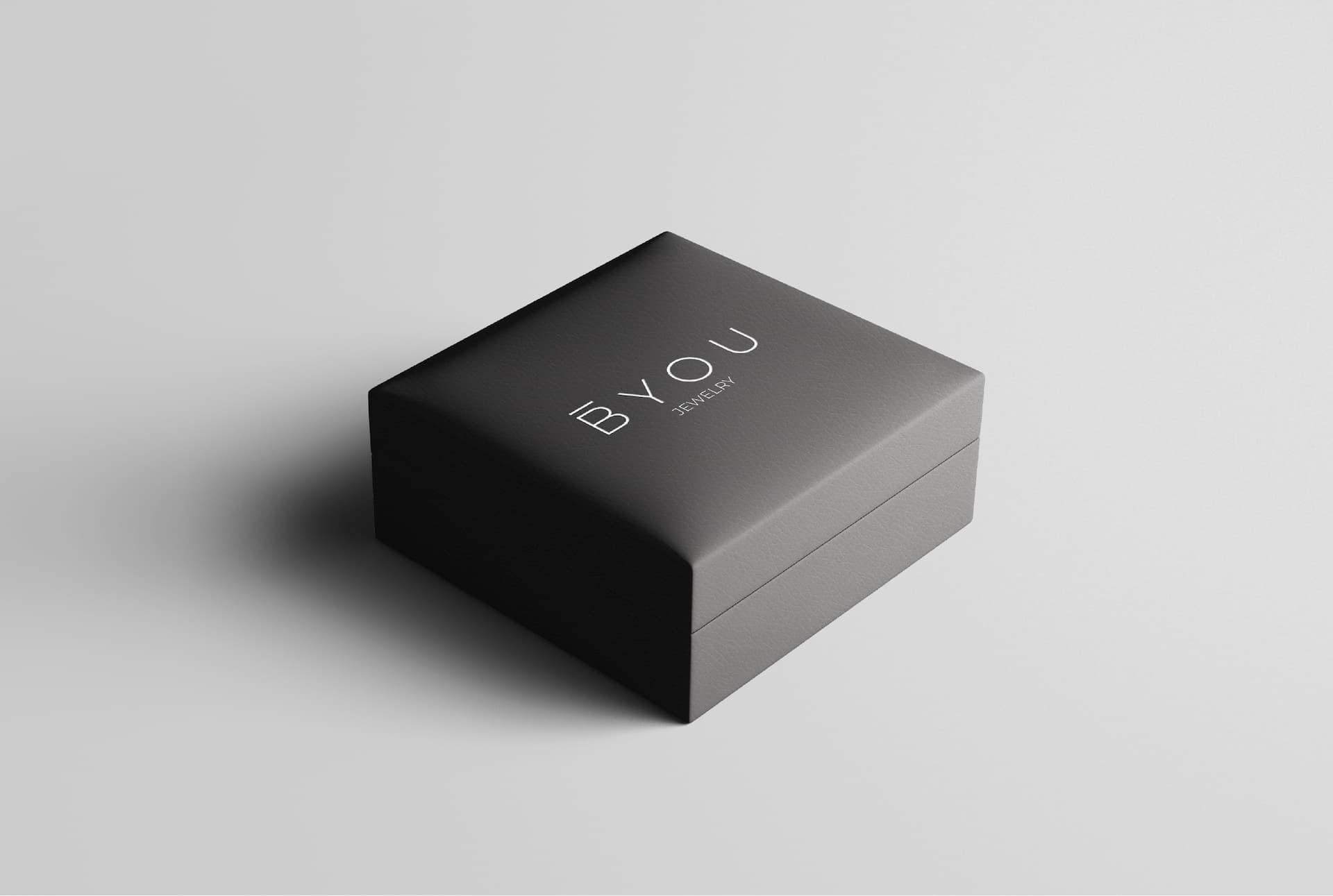 jewelry logo concept box