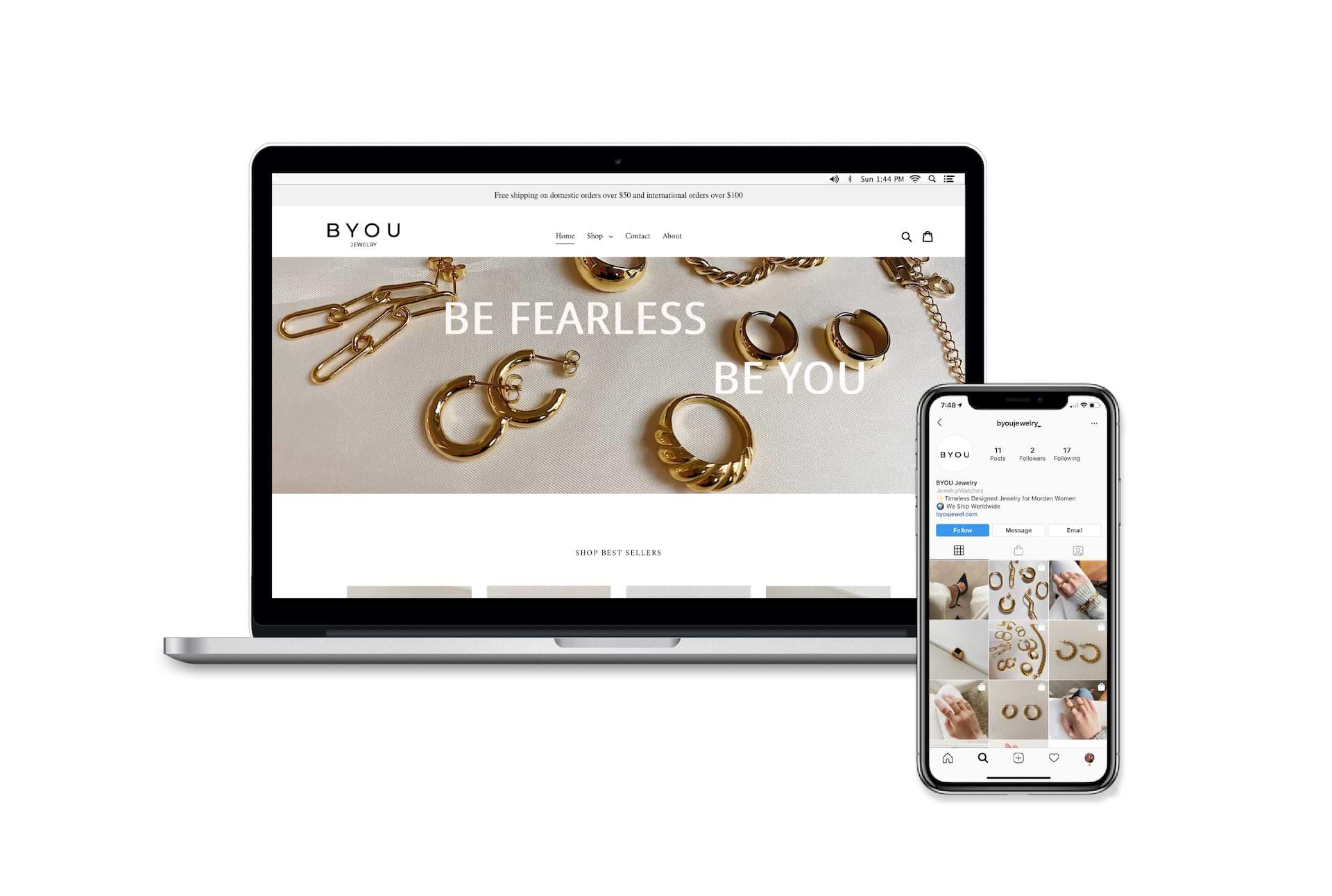 jewelry logo concept web 2