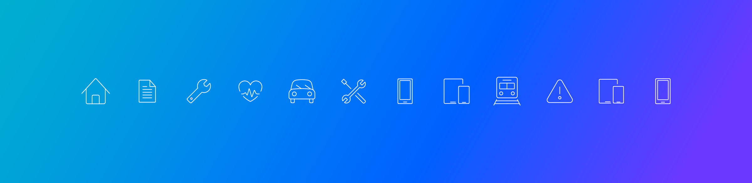 Web Design and Development for Software Company Animated icons