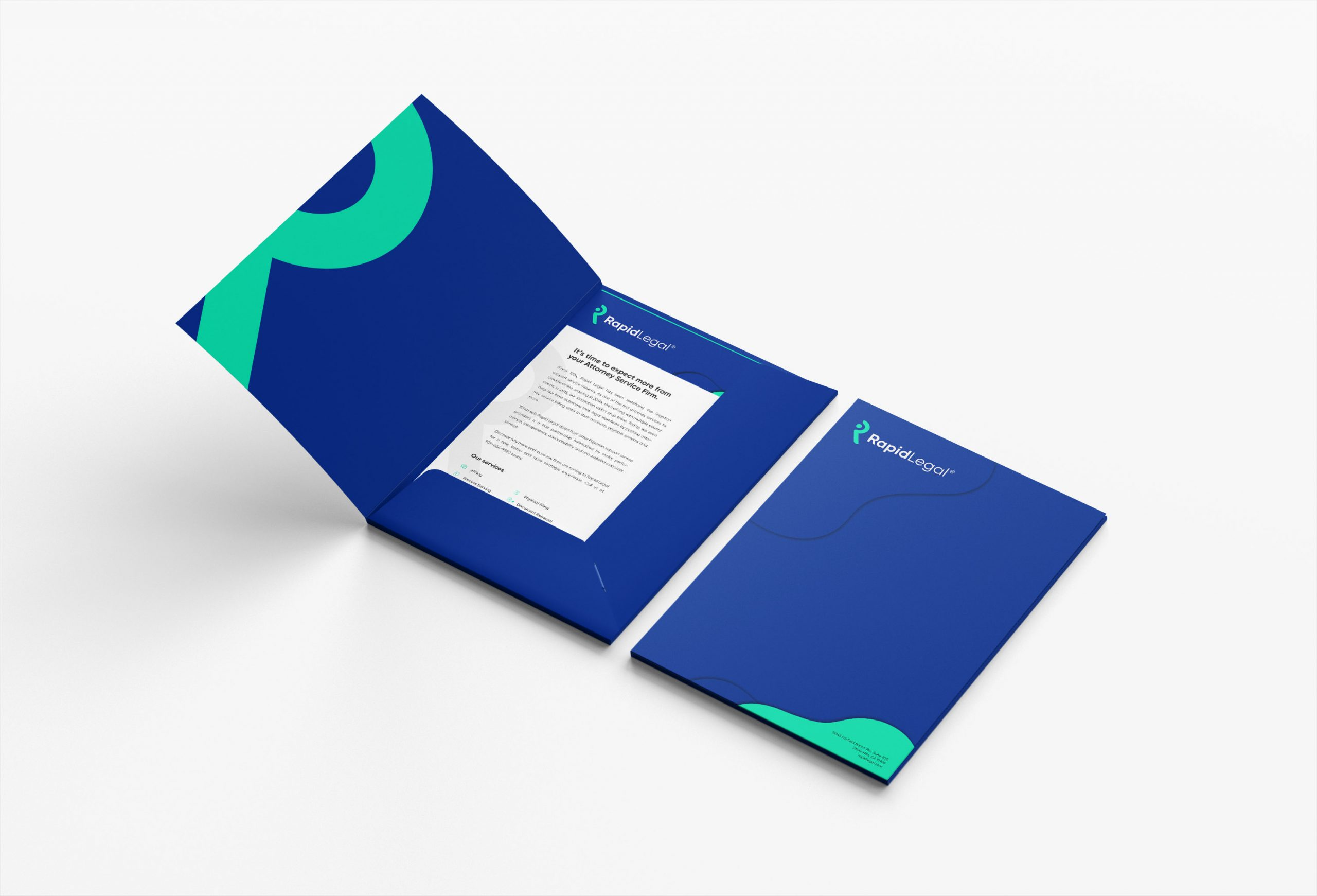 Re-branding Web Design and Web Development for Legal Services Company Rapid Legal