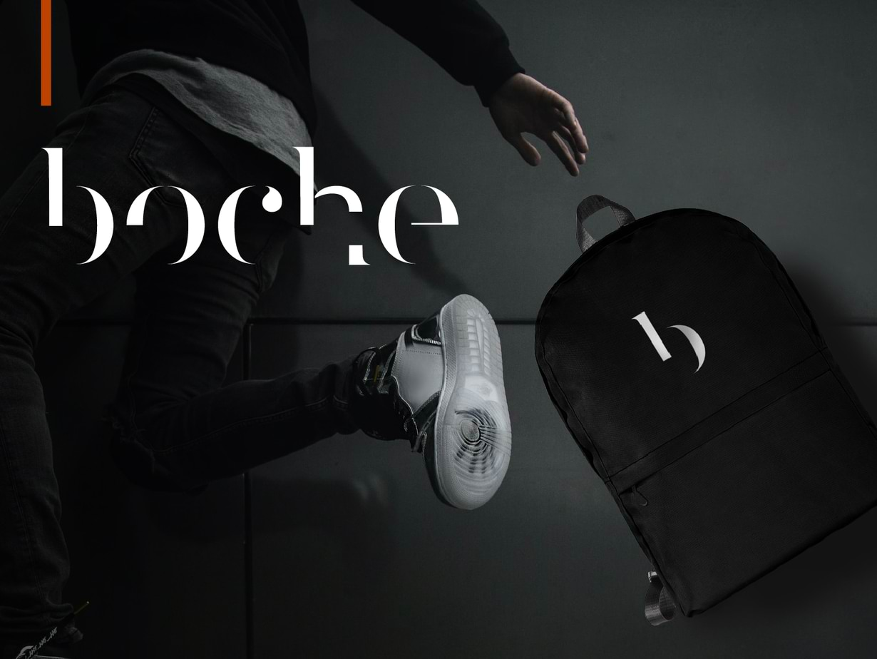 Shopify e-Commerce Website Development Branding Boche Design Logo Fashion Boche Design