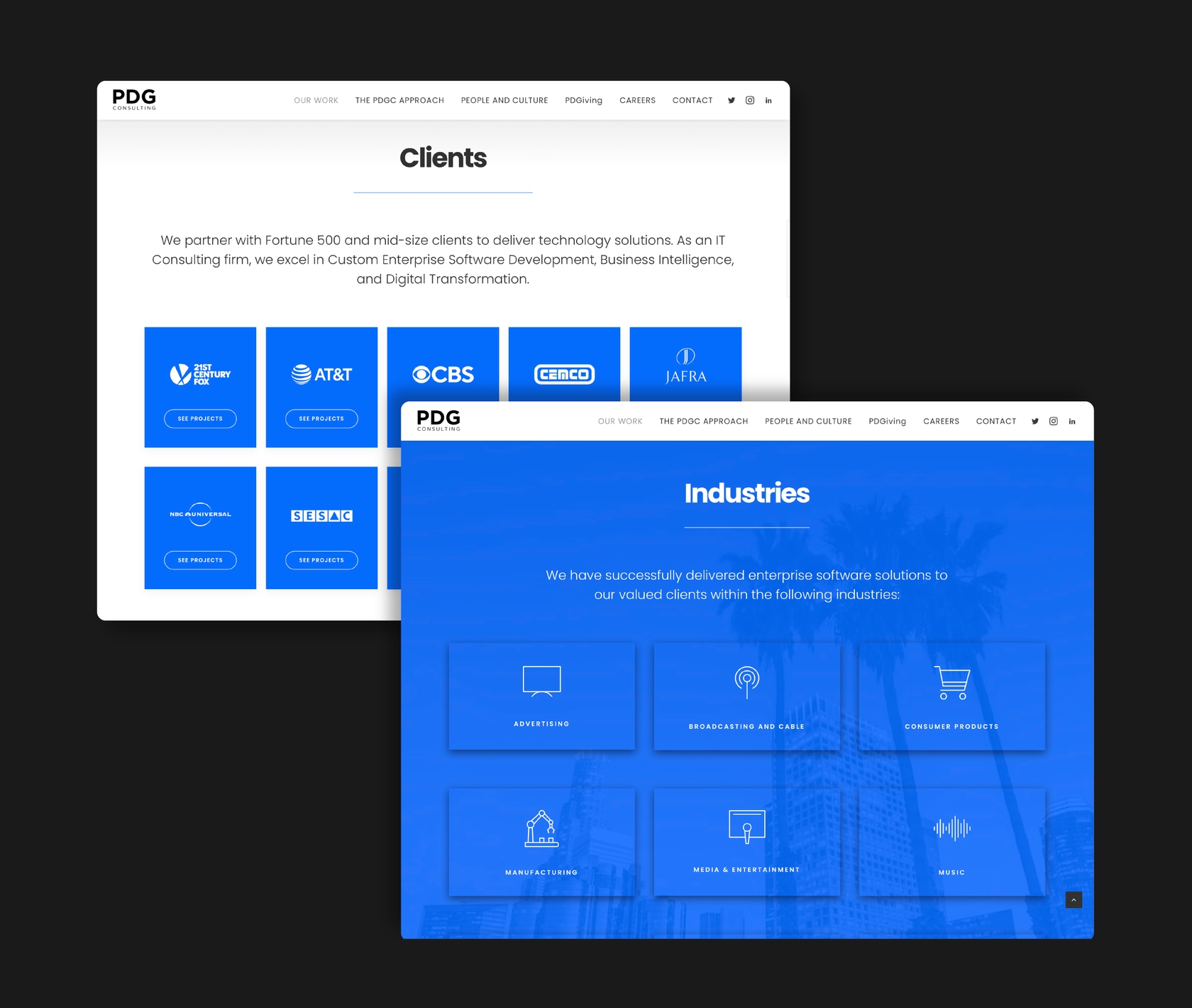 Web Development and Web Design for Software Company Based in Los Angeles_web