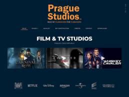 web design development prague filming studios